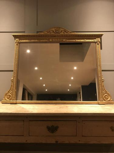 Wonderful 19c gilt and gesso mirror (1 of 11)