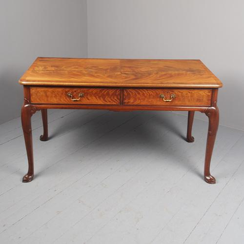 Large Mahogany Side Table by Whytock & Reid (1 of 12)