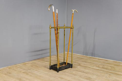 Victorian Brass Stick Stand (1 of 5)