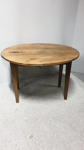 Very Good French Cherry Kitchen Dining Table (1 of 11)