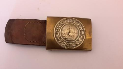 WWI German Belt Buckle (1 of 3)