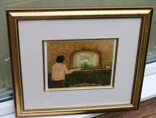 Figure in an Interior by James Carlisle (1 of 6)