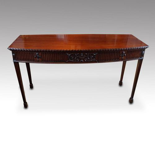 Edwardian Mahogany Serving Table (1 of 10)