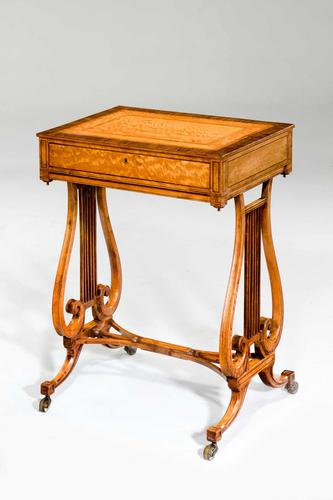 Late 18th Century Satinwood Work Table (1 of 4)