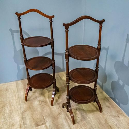 Pair of Edwardian Cake Stands (1 of 7)
