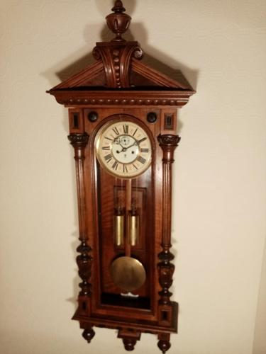 Superior Gustav Becker Vienna Wall Clock (1 of 7)