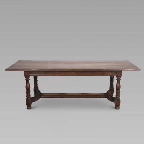 French Oak Refectory / Dining Table (1 of 4)