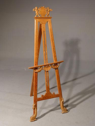 An Unusual Early 20th Century Continental Easel (1 of 4)