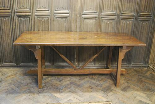 Spanish Chestnut Wood Tavern Table (1 of 8)