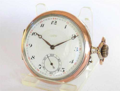 Antique Silver Henry Moser Pocket Watch (1 of 5)