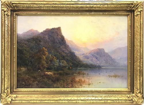 'Lodore Derwentwater' by Alfred Fontville de Breanski Jr (1 of 7)