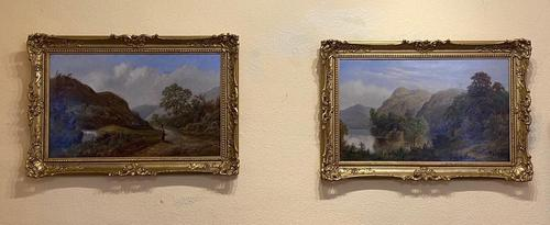 Fine Pair of Oils by Samuel Hart Turpin (1 of 4)