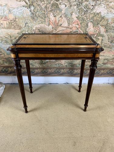Superb 19th Century Mixed Timber Jardiniere (1 of 6)