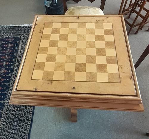 Pedestal Games Table (1 of 6)