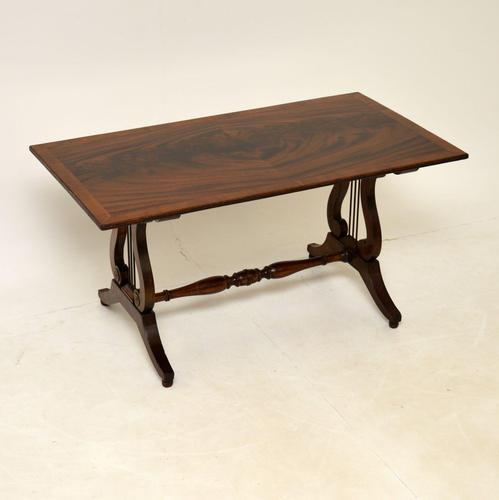 Flame Mahogany Regency Style Coffee Table (1 of 8)