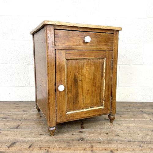 Rustic Antique Pine Side Cupboard (1 of 8)