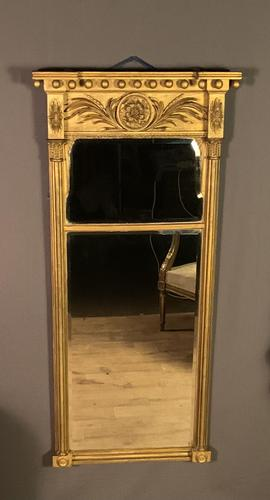 Substantial Size Regency Period Giltwood Pier Mirror (1 of 8)