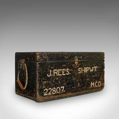 Antique Shipwright's Chest, English, Craftsman's Tool Trunk, Victorian, 1900 (1 of 12)