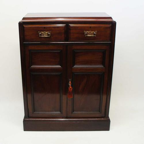 Victorian Mahogany  Shelved Hall Cupboard (1 of 15)