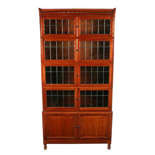 """Minty"" Mahogany Stacking Bookcase (1 of 8)"