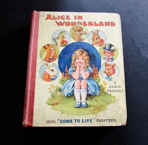 1920 Alice in Wonderland - Rare Come to Life Panorama Edition by Lewis S. Carroll (1 of 5)
