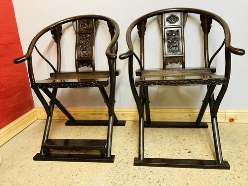 Oriental Folding Armchairs (1 of 19)