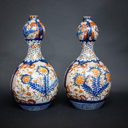 Pair of 19th Century Imari Vases (1 of 8)