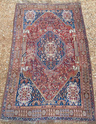 Antique Kashgai Carpet (1 of 7)