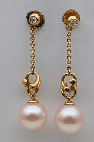 Georg Jensen Regitze Overgaard Gold Earrings (1 of 4)