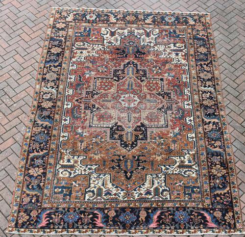 Old Heriz roomsize carpet 338x241cm (1 of 5)