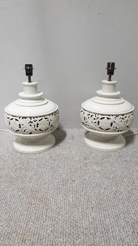Pair of Large Italian Lamps (1 of 5)