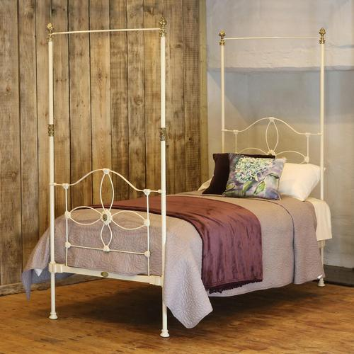 Cream Victorian Four Poster Single Bed (1 of 8)