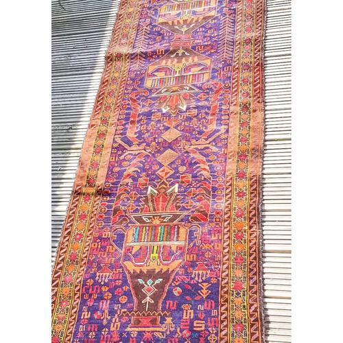 2.8m Long Antique Persian Runner Rug (1 of 10)