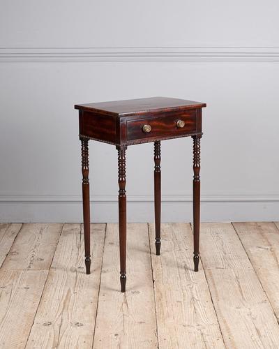 Regency Mahogany Side Table (1 of 7)