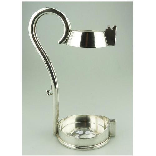 Mappin & Webb - Good Silver Plate Wine Bottle Holder c.1900 (1 of 10)