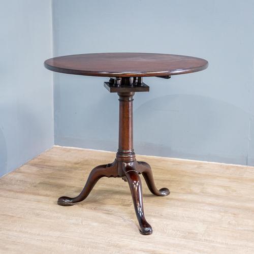 Georgian Mahogany Tilt Top Table (1 of 8)