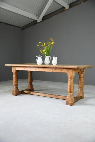 Antique Rustic Pine Table (1 of 11)