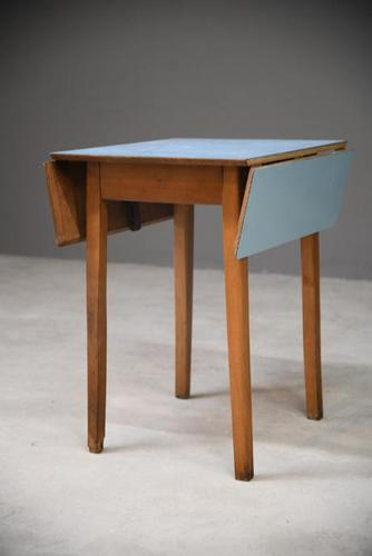 Blue Formica Retro Kitchen Table (1 of 8)
