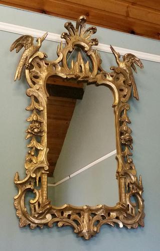 Stunning Large Gilt Pier Mirror (1 of 5)