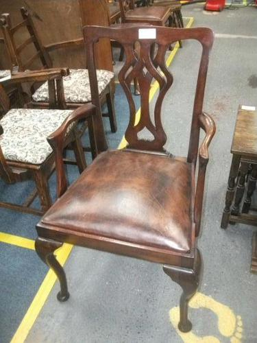 Chippendale Style Carver Chair - 770-1398 (1 of 3)