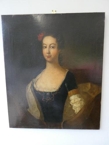 18th Century Portrait Painting (1 of 9)