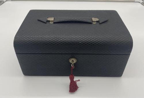 Victorian Leather Fitted Jewellery Box (1 of 12)