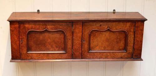 Mid Victorian Walnut Wall Cabinet (1 of 7)