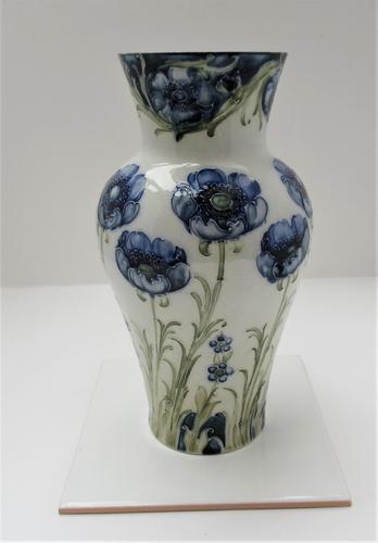 William Moorcroft, Macintyre Florian Ware Blue Poppy c.1900 (1 of 11)