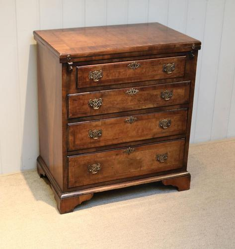 Small Proportioned Walnut Batchelors Chest (1 of 8)