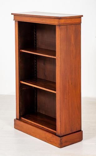 Plain Victorian Mahogany Open Bookcase (1 of 7)