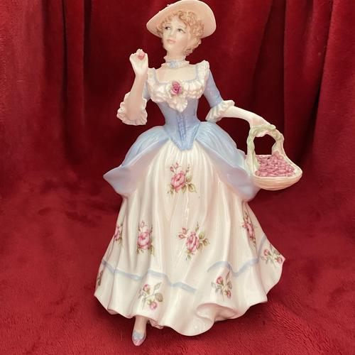 "Coalport Limited Edition figurine titled ""Strawberries Scarlet Strawberries"" from the Cries of London Collection 225 of 9500 (1 of 10)"