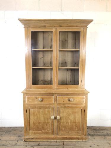 Victorian Antique Pine Glazed Dresser (1 of 8)