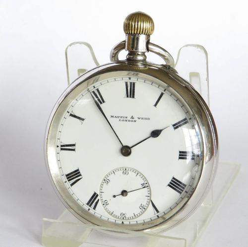 Antique Silver Pocket Watch from Mappin & Webb (1 of 5)