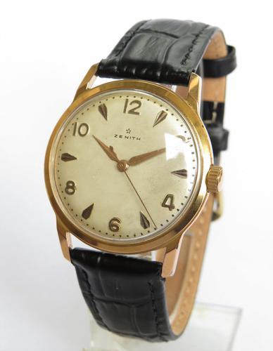 Gents 1950s Zenith wrist watch (1 of 5)